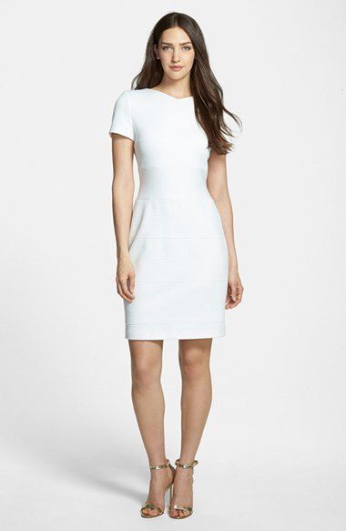 Loving this sophisticated and flattering dress from BOSS @dondefashion