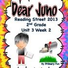 "Supplemental resources for 2nd grade Reading Street (2013) Unit 3 Week 2 story  ""Dear Juno"" This packet includes the follow:  ➢	Concept Map ➢	Genre..."