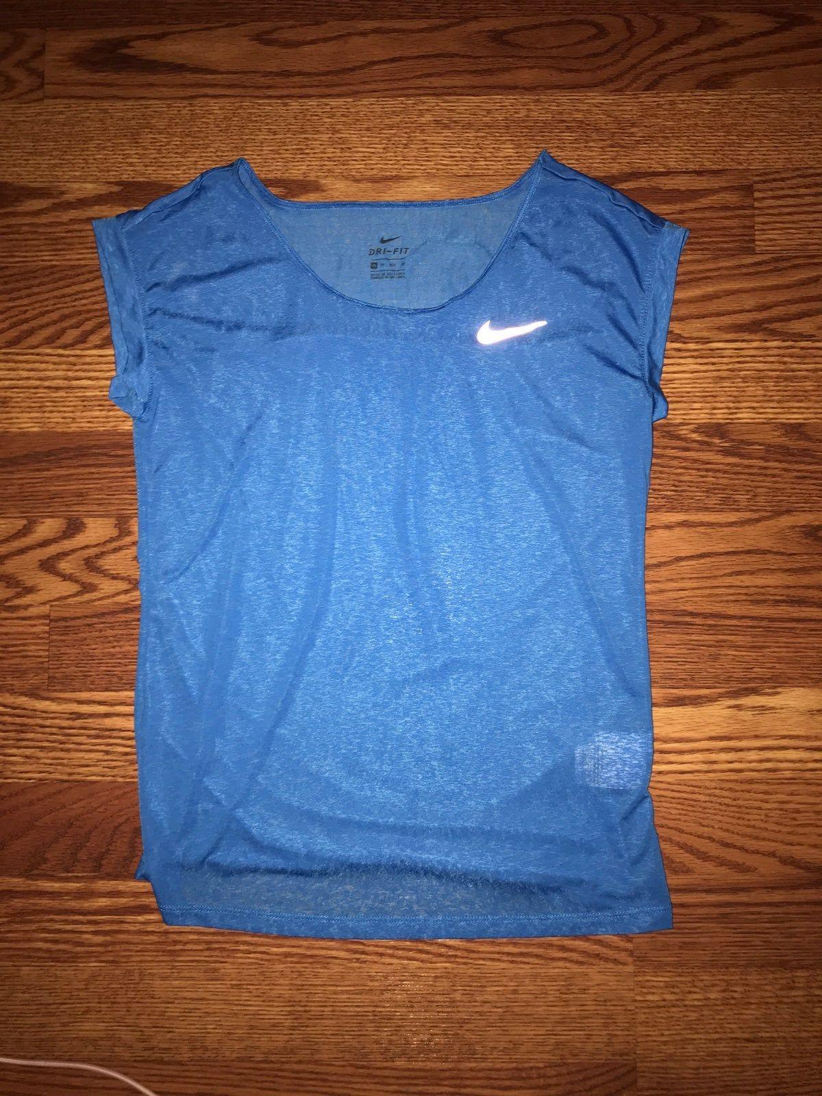 Nike Dri Fit T Shirt Light Sky Blue Size Xs Worn Once Dri Fit T Shirts Nike Dri Fit Shirts