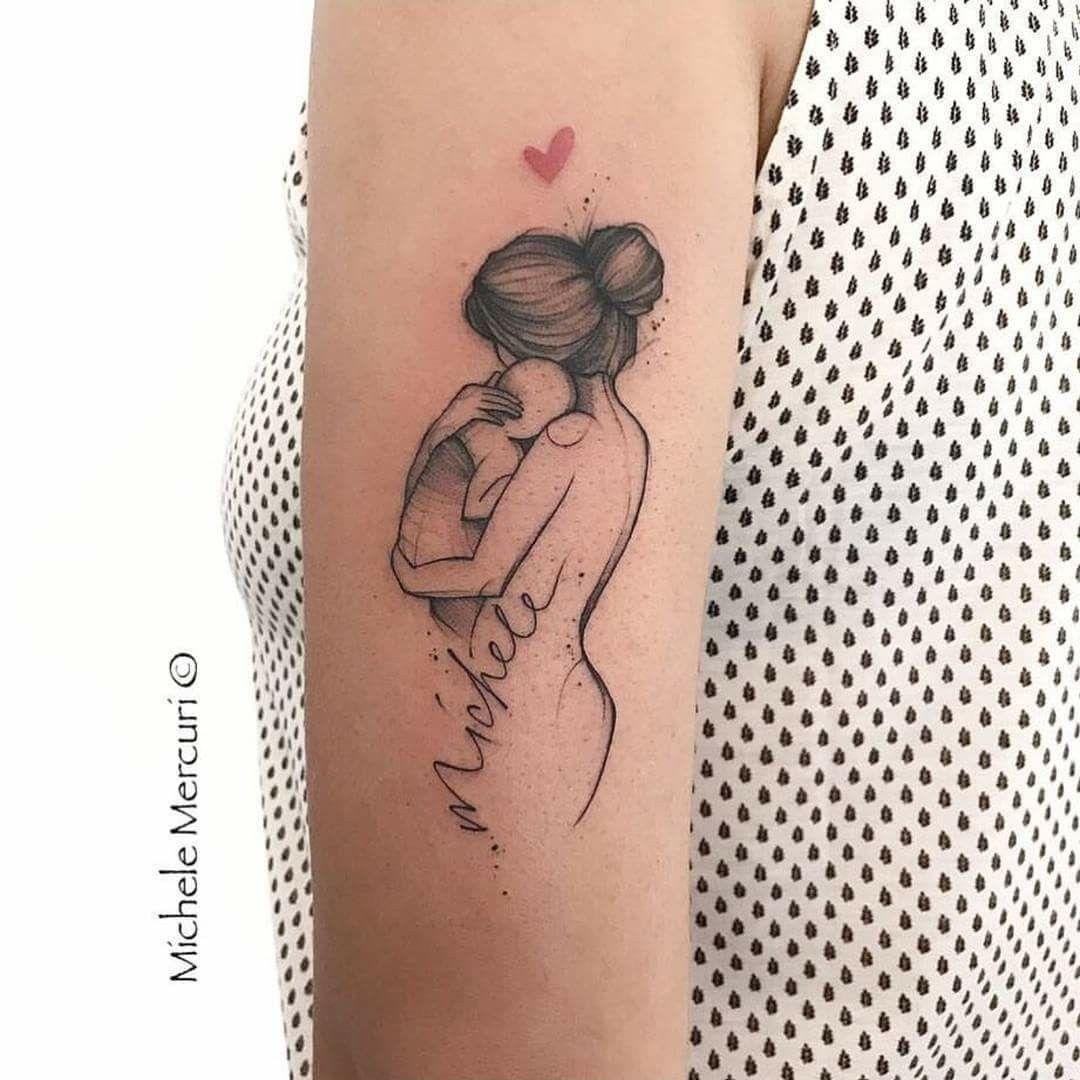 Tatuagem Homenagem Ao Filho Tatuagens De Crianças Mommy