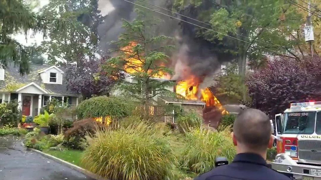 A twinengine plane crashed into a suburban home in New