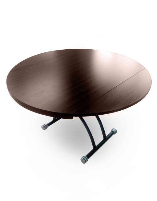 Chord Round Lift Coffee Table Tables Glass Round Dining