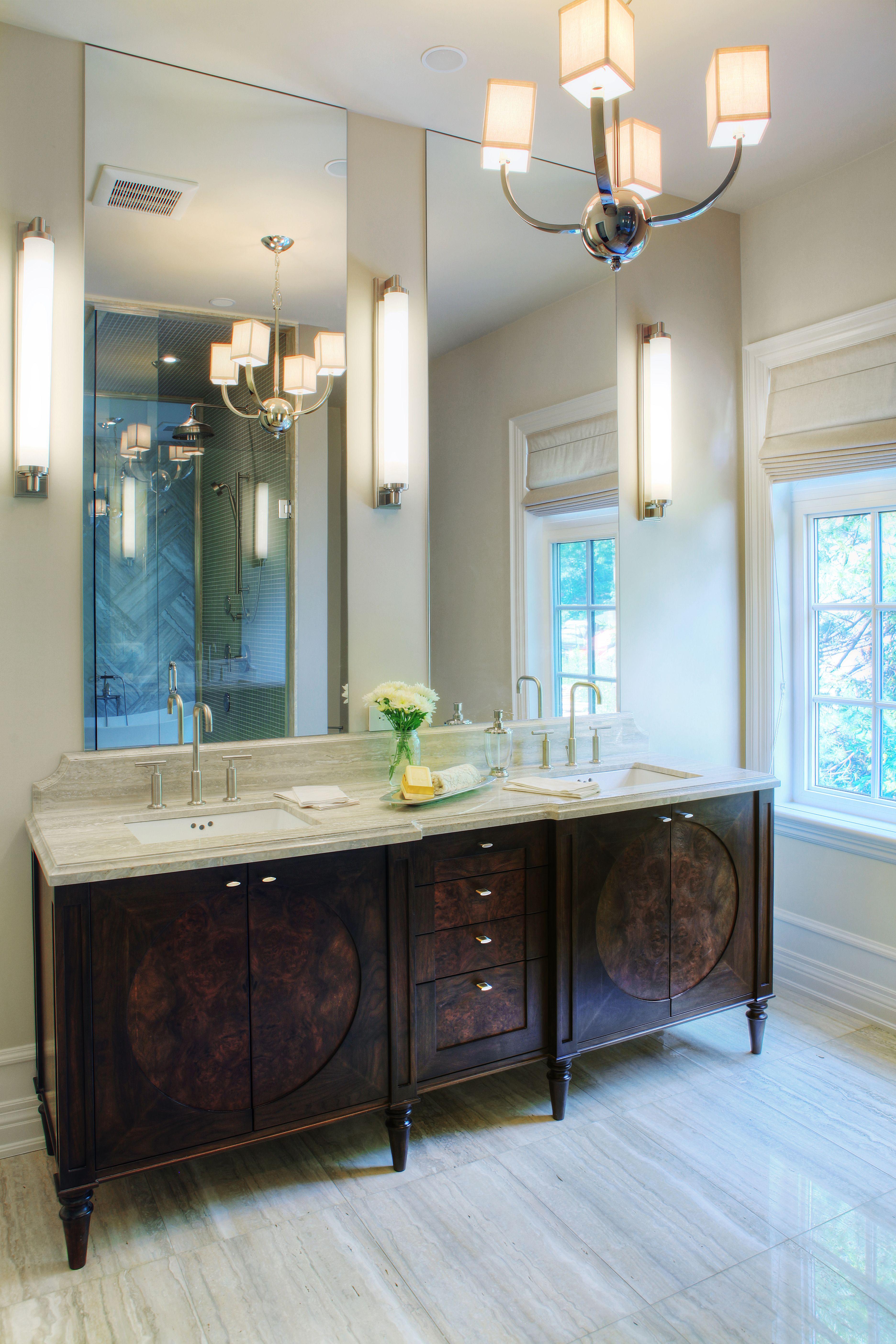 Polished EnSuite in Oakville European bathroom design