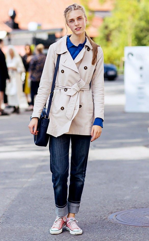 Unexpectedly Cool Ways to Wear a Trench Coat via  WhoWhatWear 205722a7a