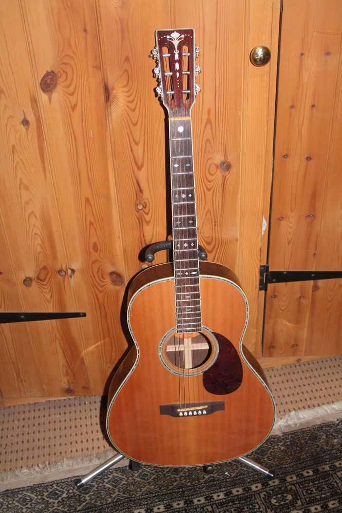 Crafter Ta 050 Acoustic Guitar In Musical Instruments Guitars Basses Electro Acoustic Guitars Ebay Guitar Acoustic Acoustic Guitar