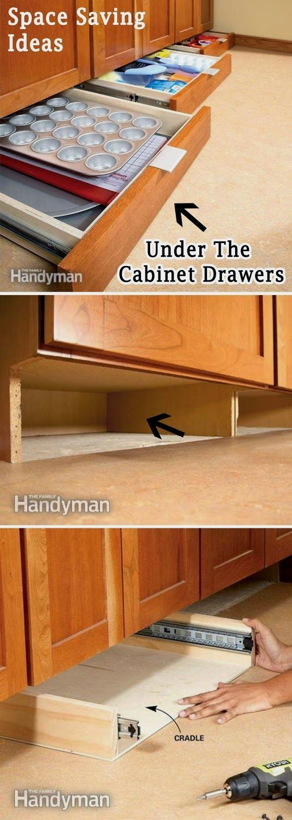20 Creative And Clever Space Saving Ideas Home Remodeling Home Projects Kitchen Storage