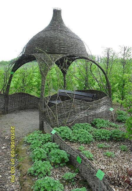 Ogród Botaniczny Wojsławice Kniemczy Dom Balkon Ogród