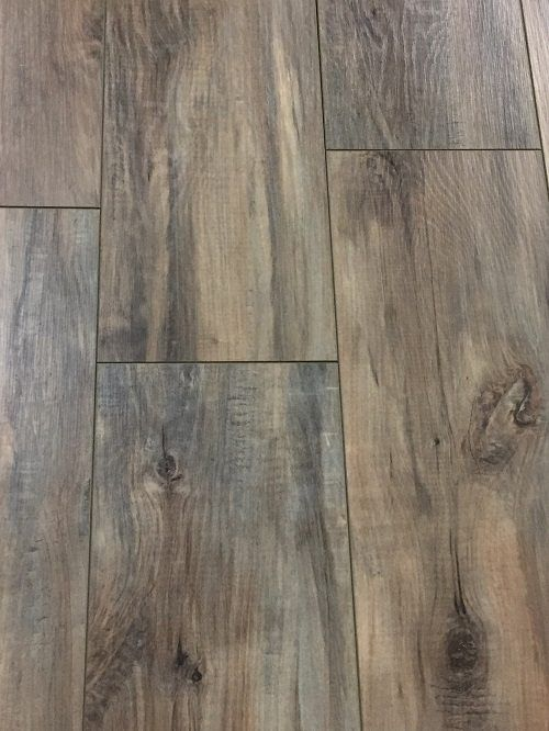 12mm Toasted Coconut Laminate Flooring With Attached 2mm Pad