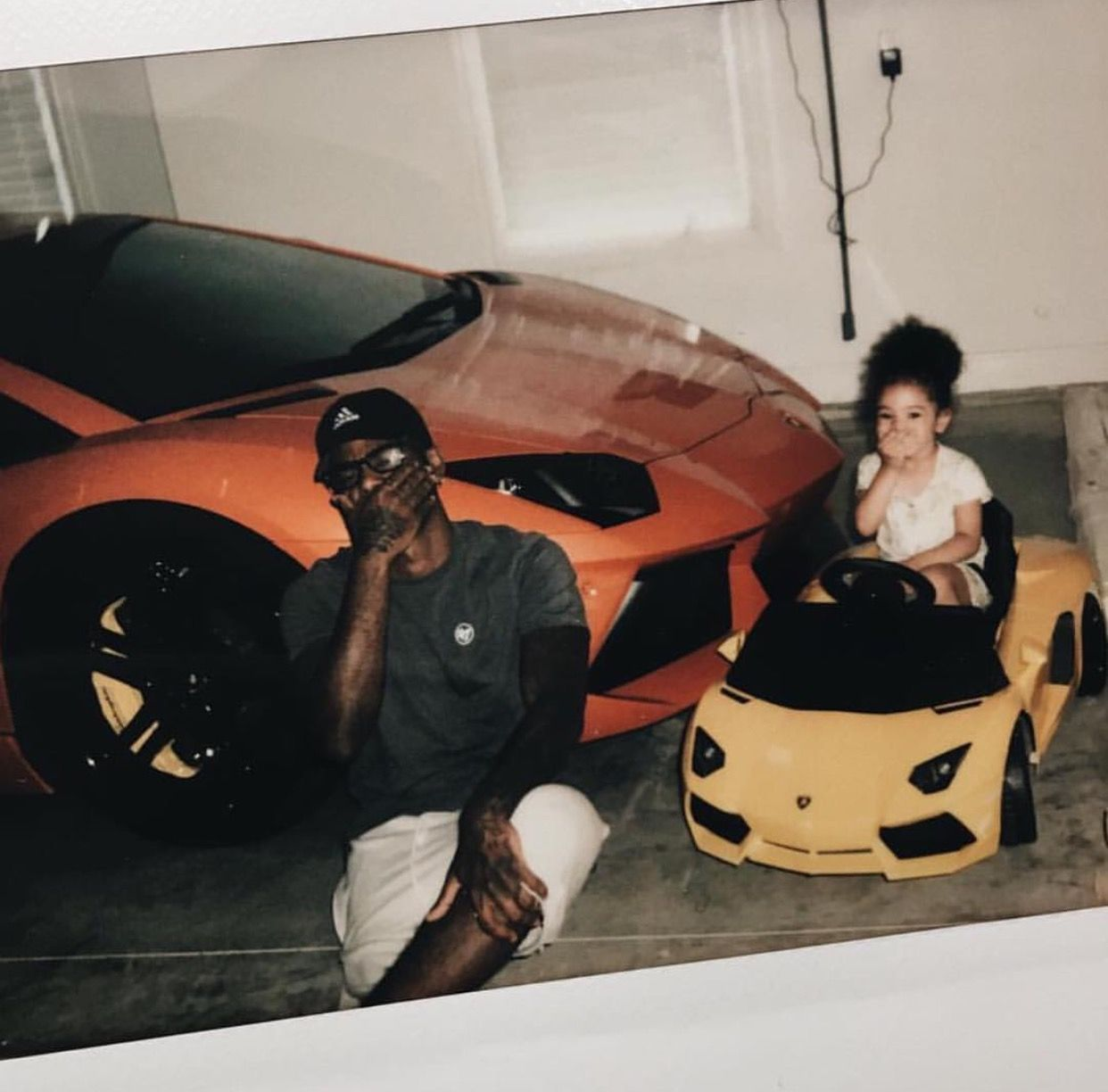 Bryson Tiller and Harley Tiller flexing in the name of lambs!