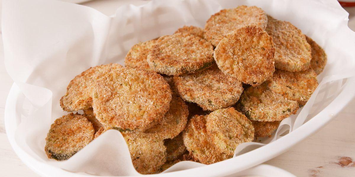 Air Fryer Fried Pickles Recipe Air fried food, Food