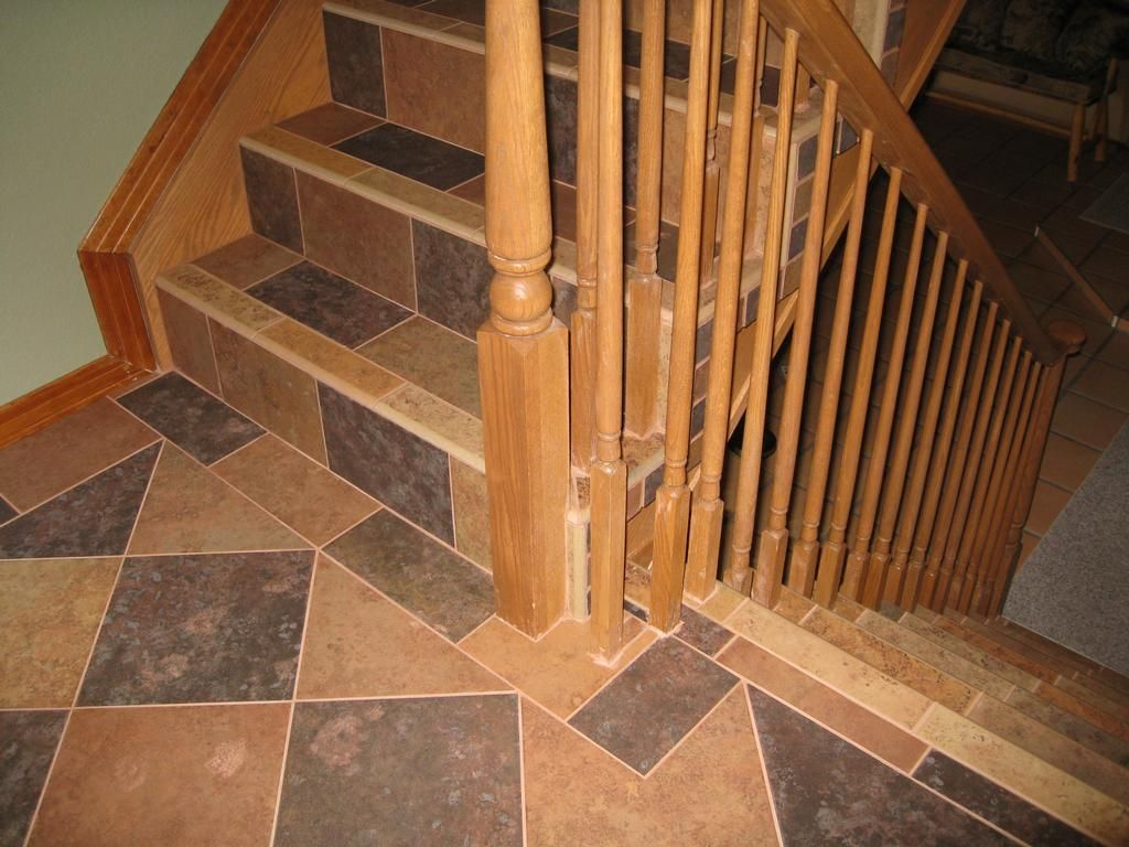 Tiled Stairs Tile Stairs By Tile By Pfiel