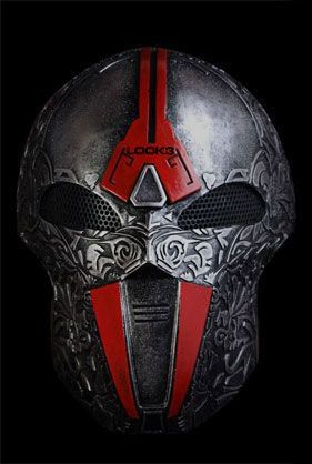Pin by Mikael Riddle on masks | Airsoft mask, Airsoft, Armor