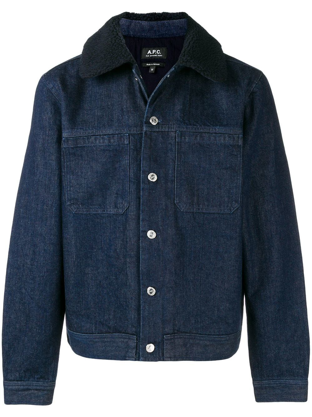 1d26989fe2a A.P.C. A.P.C. DENIM JACKET - BLUE.  a.p.c.  cloth