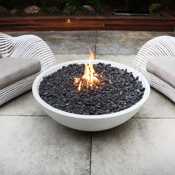 Lumacast Handcrafted Concrete Fire Bowl, Need One