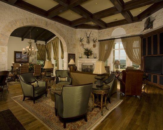 Tuscan Home Interior Design Mediterranean Living Room Design