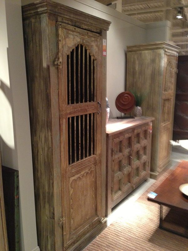 Gorgeous tall display and storage chest by Classic Home Furniture. // www.KeyHomeFurnishings.com in Portland, Or