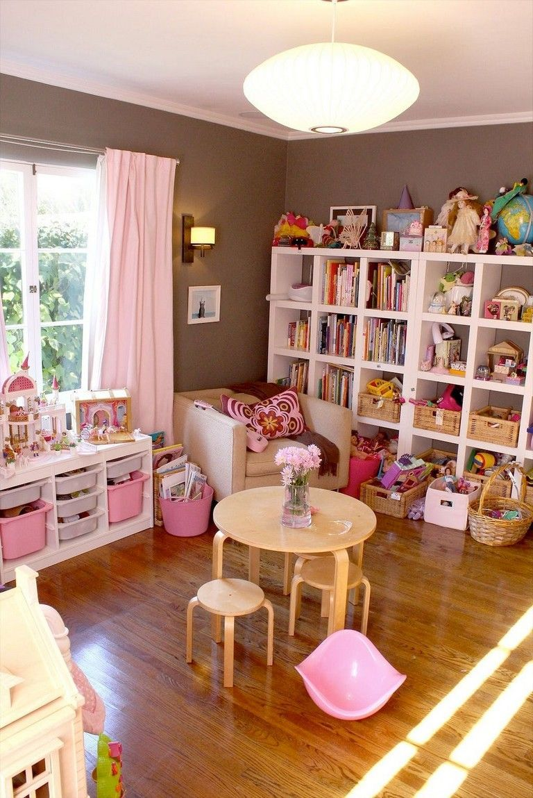 Playroom Ideas Get Motivated To Refurnish Your Child S Playroom With One Of These 30 Trendy Ideas That Bedroom For Girls Kids Toddler Playroom Kid Room Decor