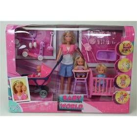Steffi love le monde de b b acheter jouets fille sur for Accessoires maison barbie