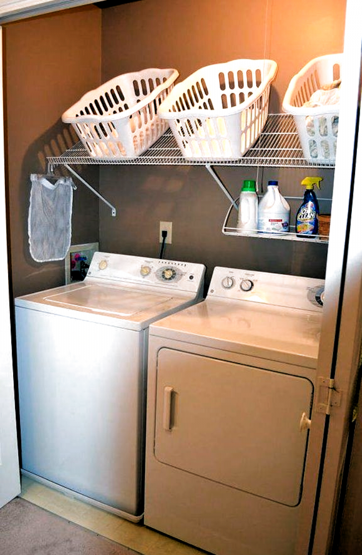 50 Laundry Storage And Organization…