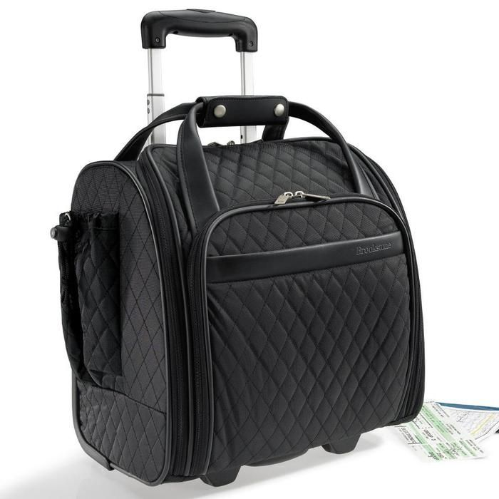 Women S Rolling Organizer The Smarter Overnight Bag And Carry On