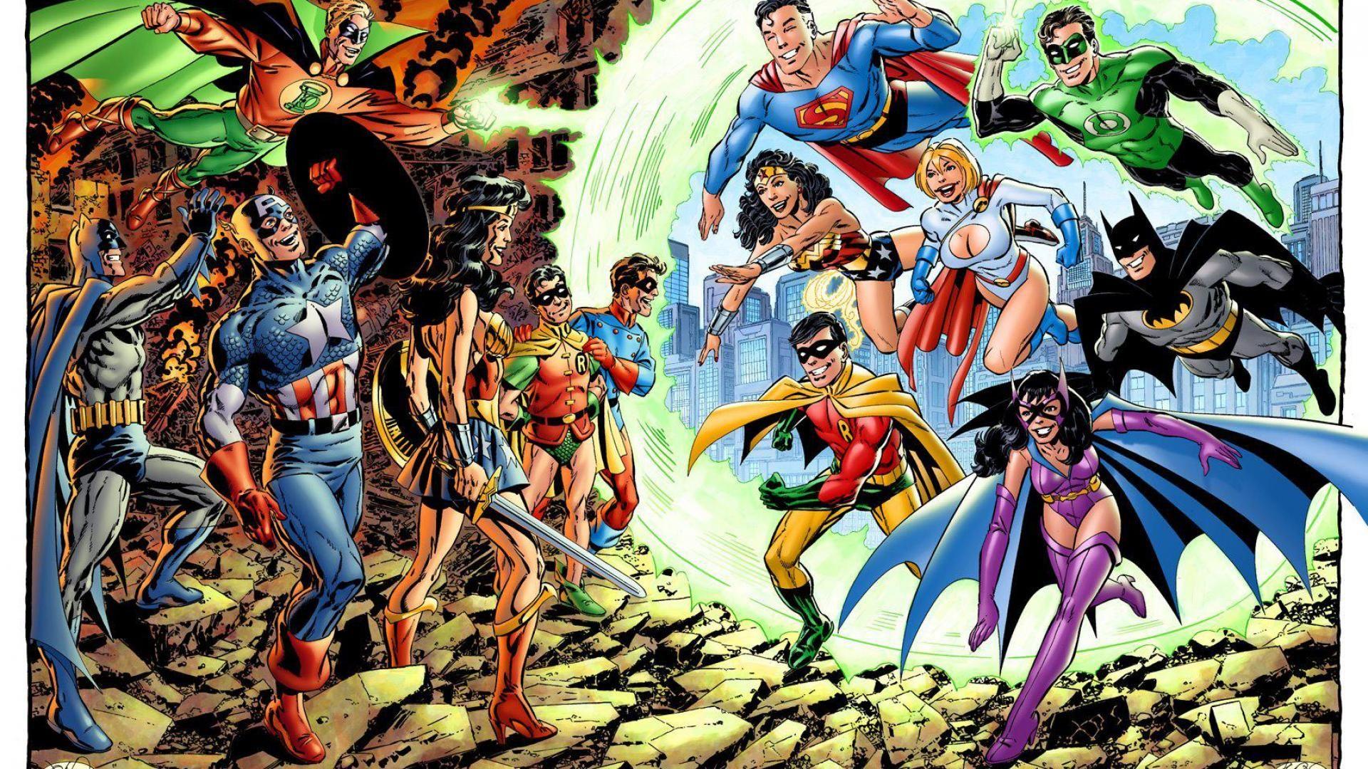 Marvel Vs DC Wallpapers Wallpaper