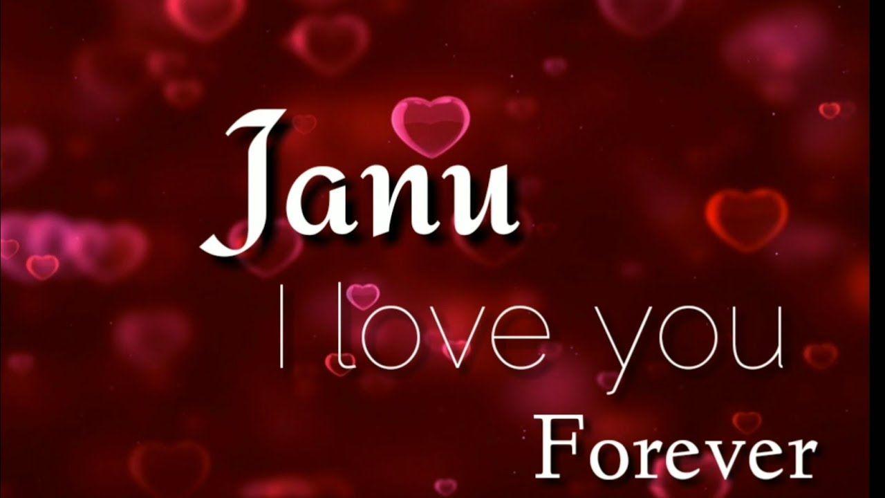 Love You Janu Love Song Whatsapp Status Video Song