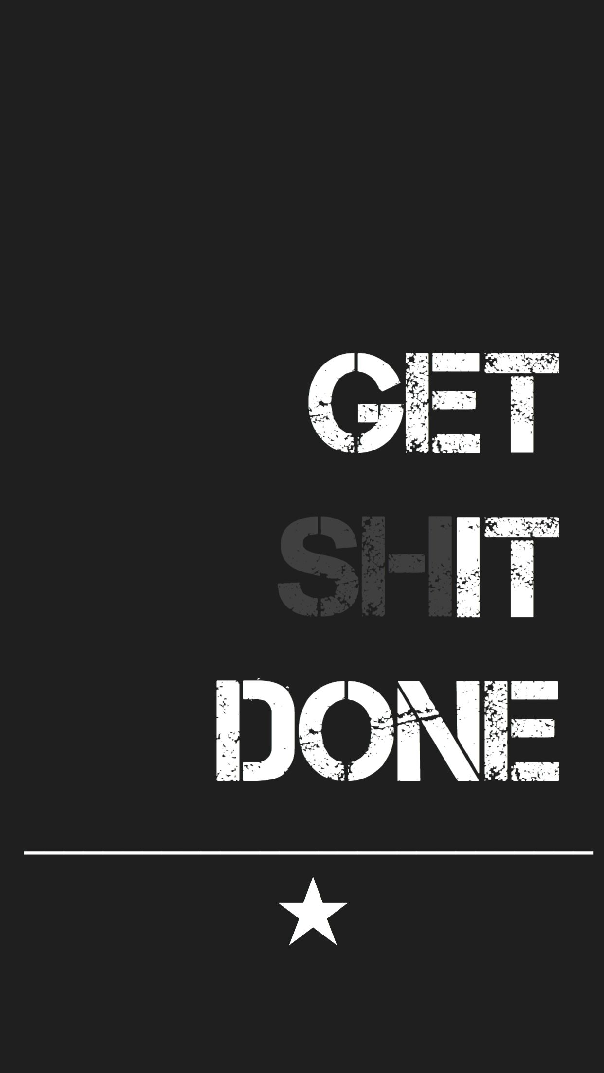 Get Shit Done In 2019 Words Wallpaper Wallpaper Quotes