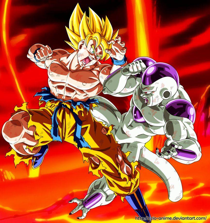Goku Vs Frieza Goku Vs Frieza Dragon Ball Dragon Ball Super Goku