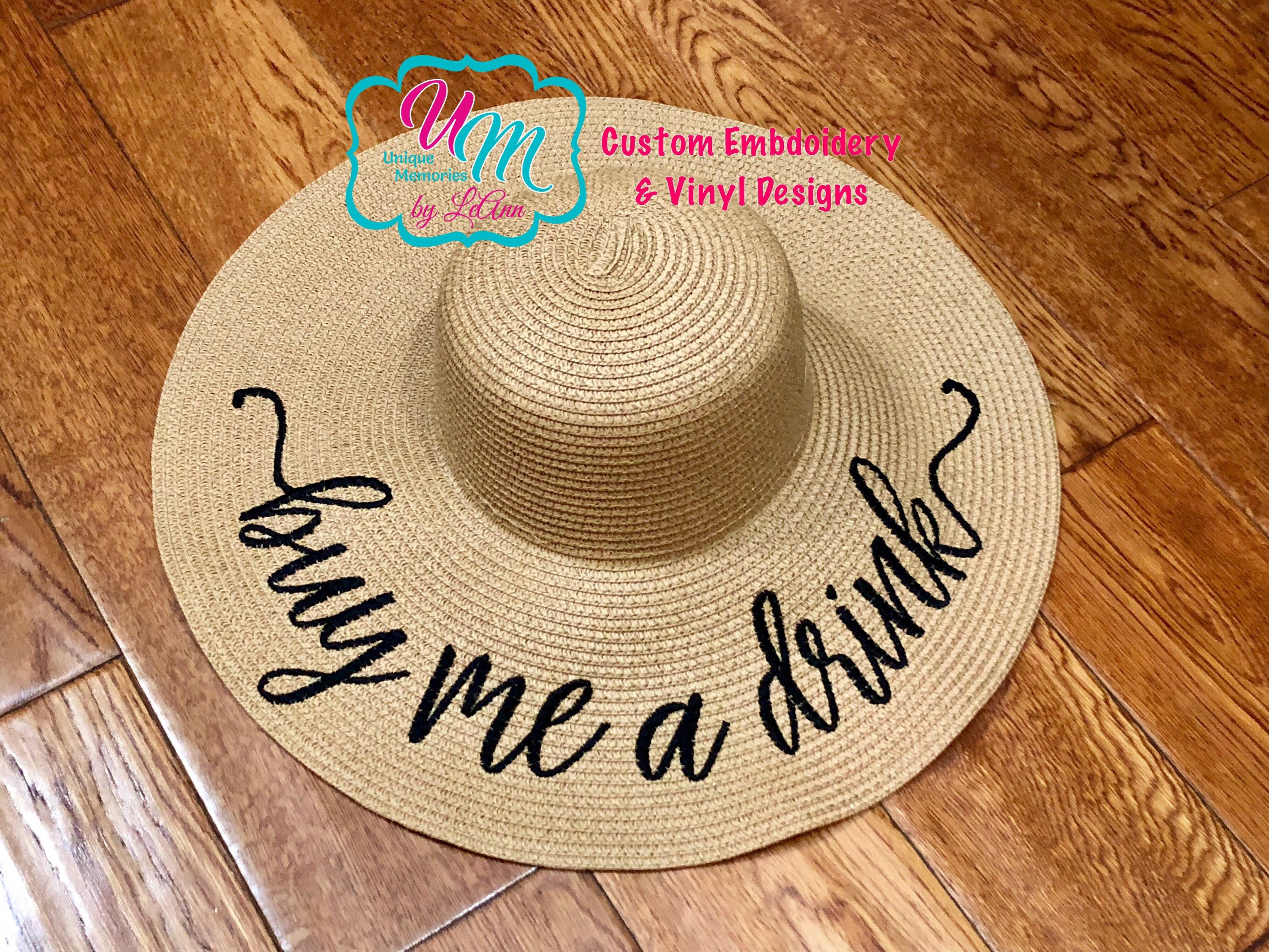 Buy me a Drink floppy Beach Hat 8dcb98d4be5