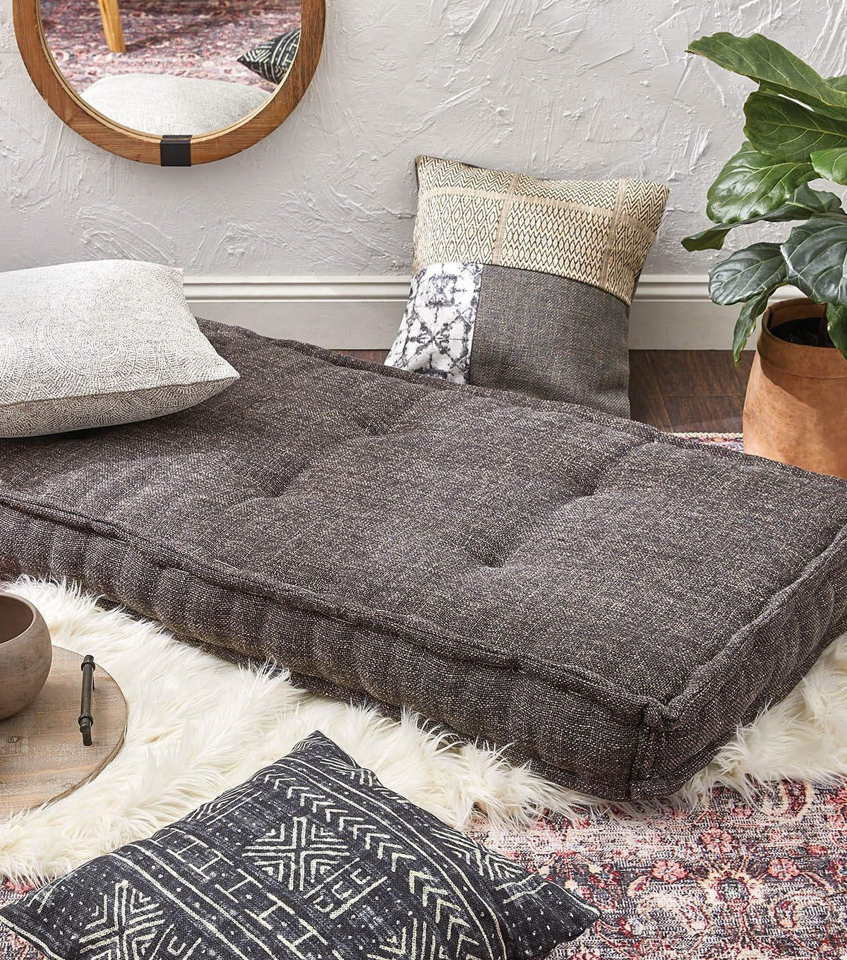 Large Rectangle Floor Cushion