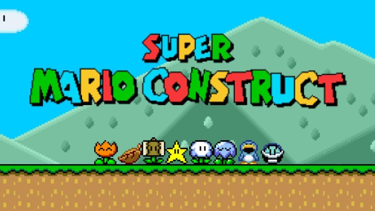 Jogar Super Mario Construct Online Jogo Do Mario Jogos Online Jogos