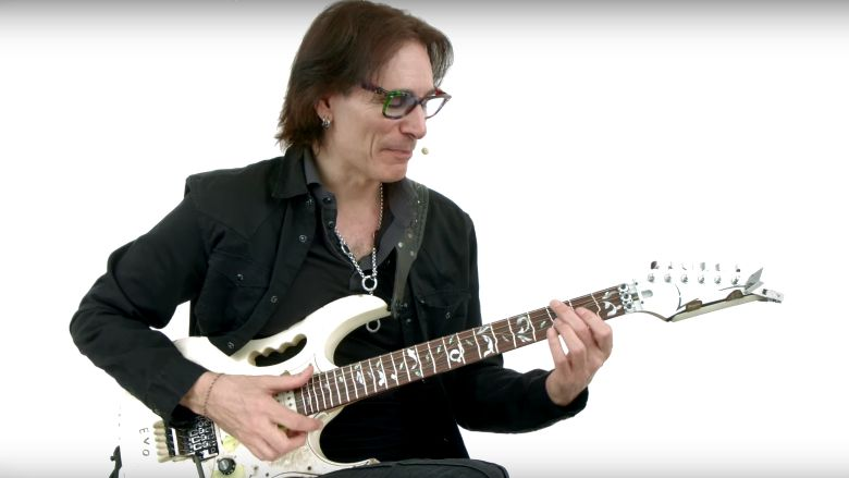Steve Vai Posts One Hour of Lessons on Technique,
