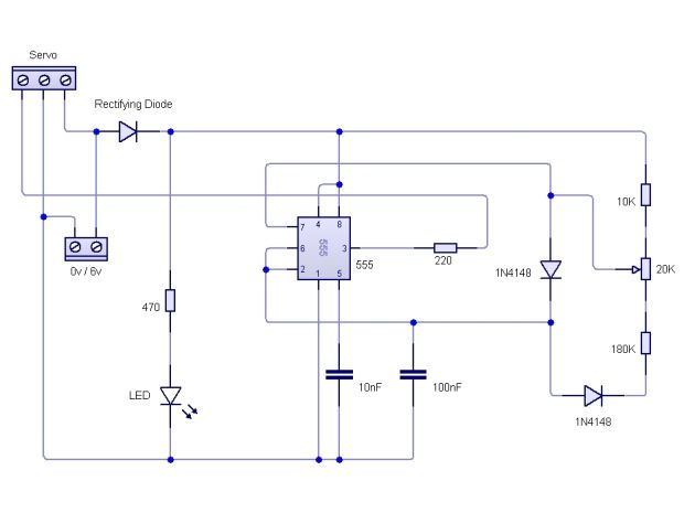 Control a servo motor without programming motor for How to program servo motor