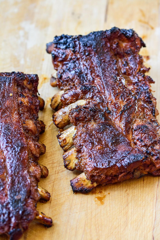 Korean Bbq Pork Ribs Recipe Pork Ribs Bbq Pork Bbq Pork Ribs