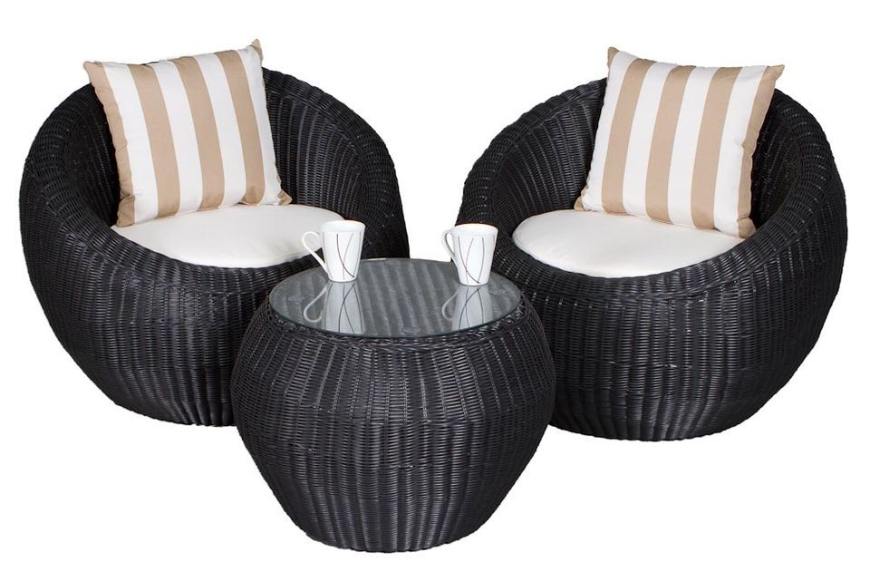 Tufted Sofa Duo Wicker Outdoor Sofa Balcony Set Sydney Melbourne Brisbane Australia