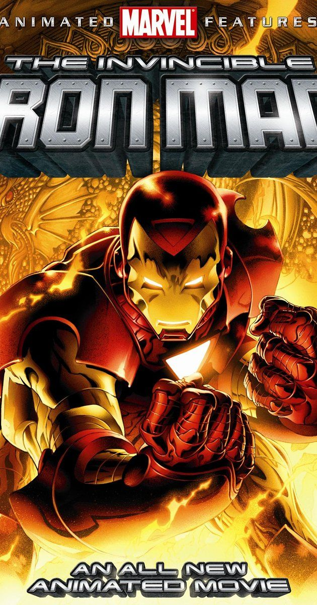 The Invincible Iron Man (Video 2007) (With images) Iron