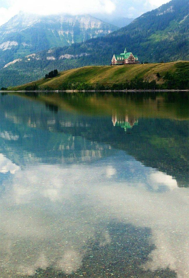 Waterton National Park In Alberta Canada I Ve Actually Eaten Fish And Chips There At That Hotel It S Called The Prince Of Wales