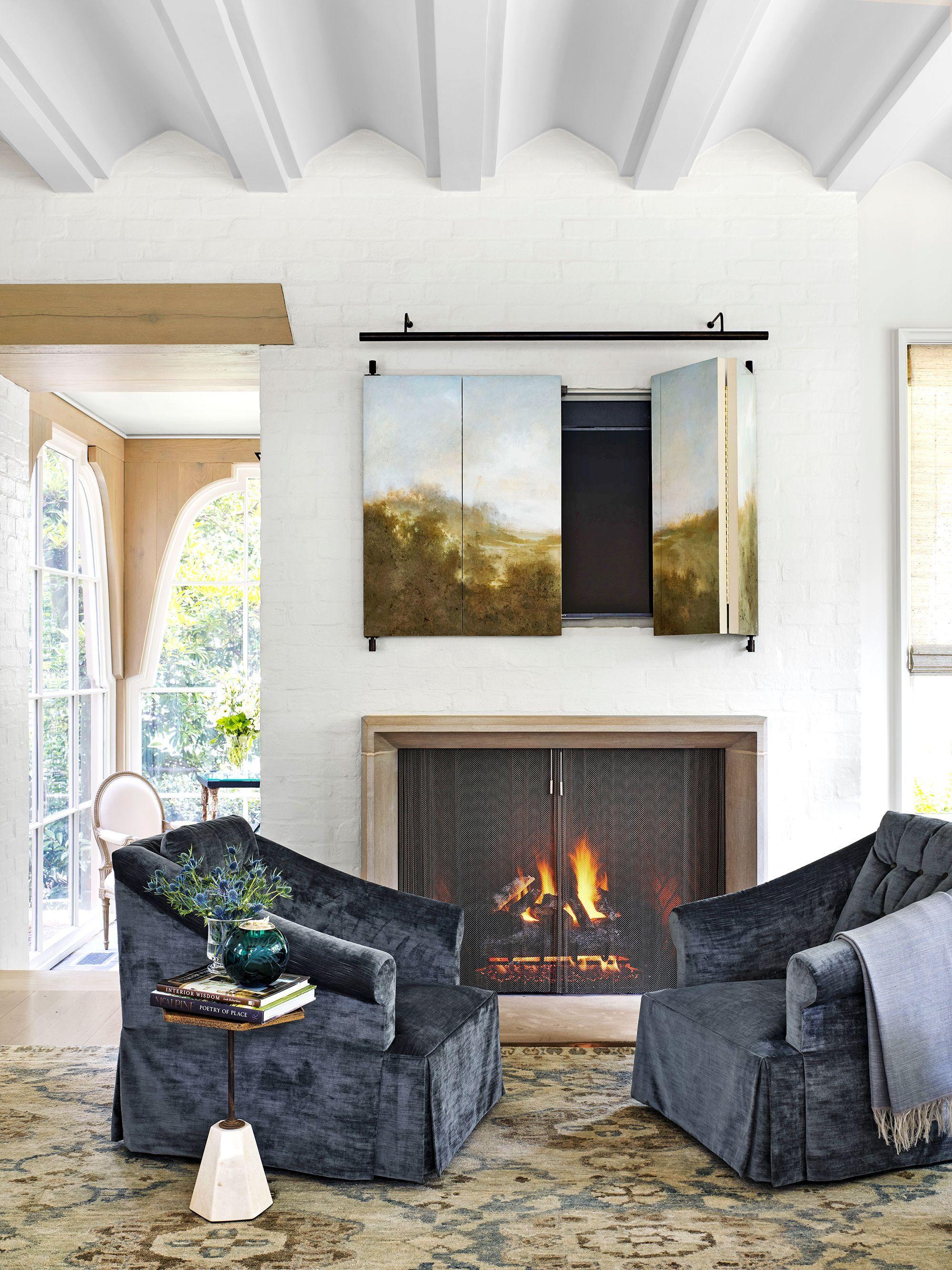 10 Adorable Fireplace Living Room Ceplukan In 2020 S