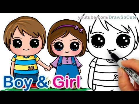 How To Draw A Cute Boy And Girl Holding Hands Step By Step Best Friends Girls Holding Hands Friend Cartoon Cartoon Girl Drawing