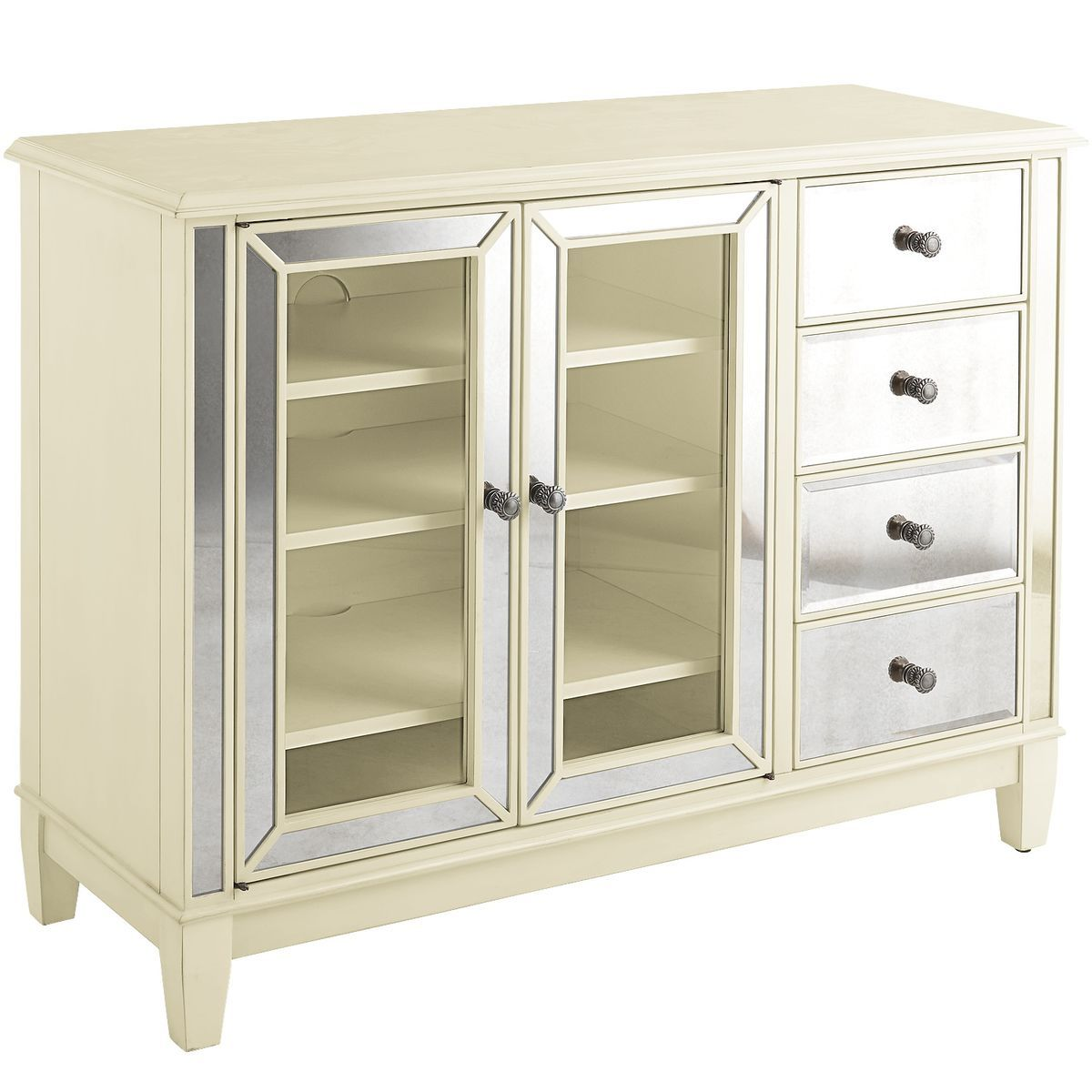 Hayworth TV Stand - Antique White