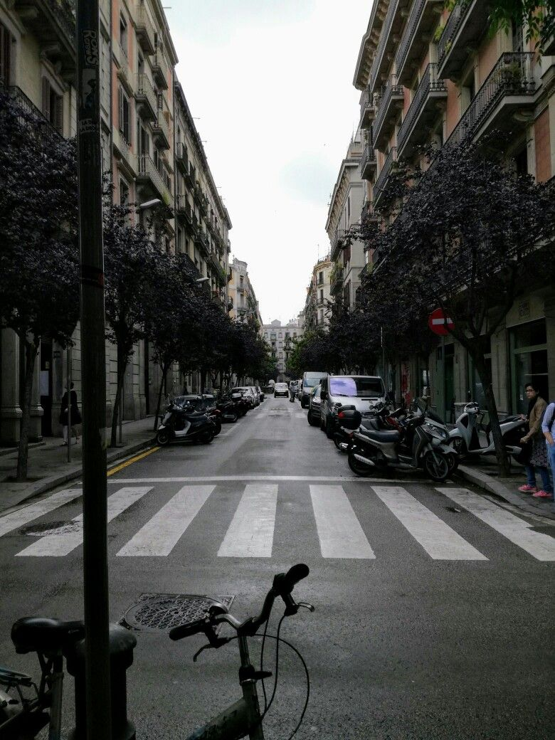 Barcelona Street View Travel Street