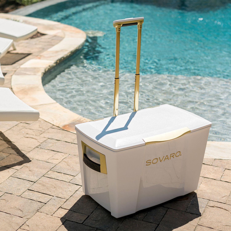 Gold Premium Cooler // White Featuring rich yet elegant in their ...