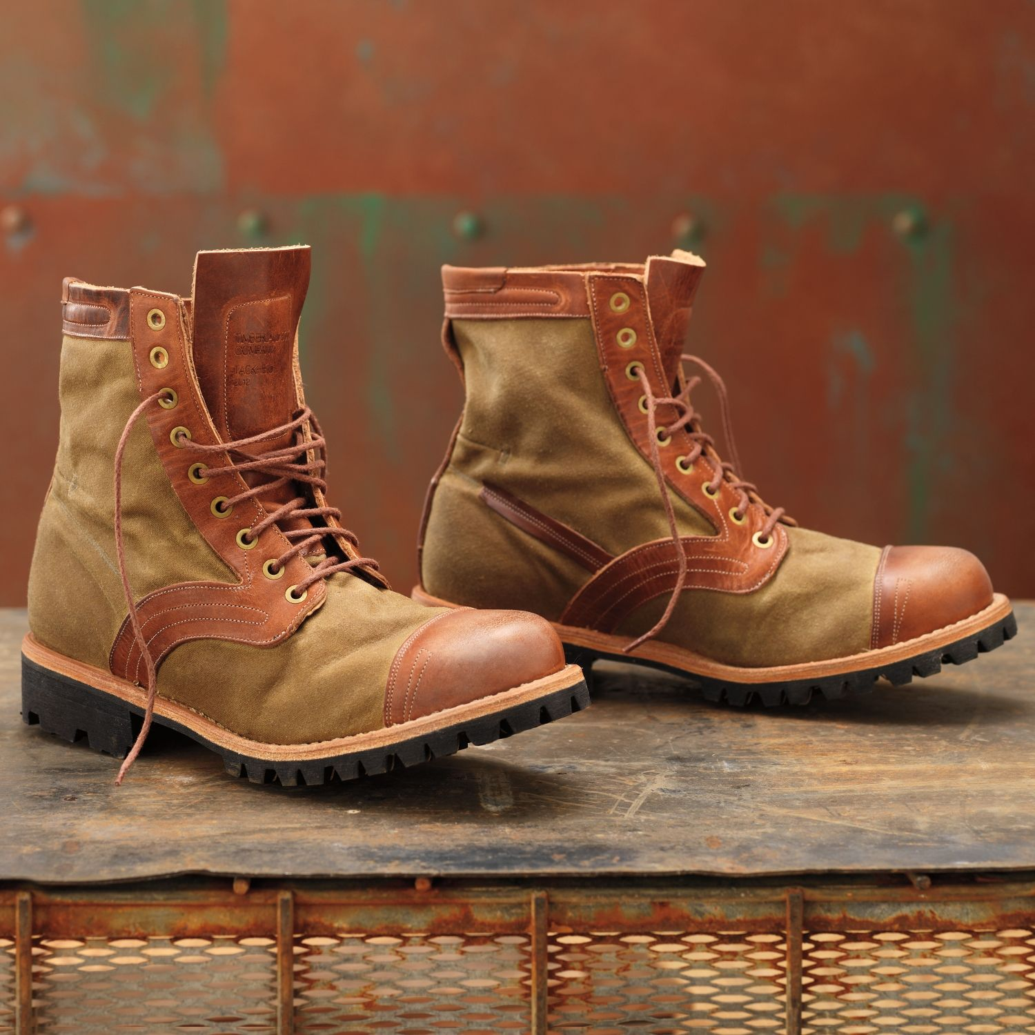 Vintage American style work boots. in 2019 | Timberland boot