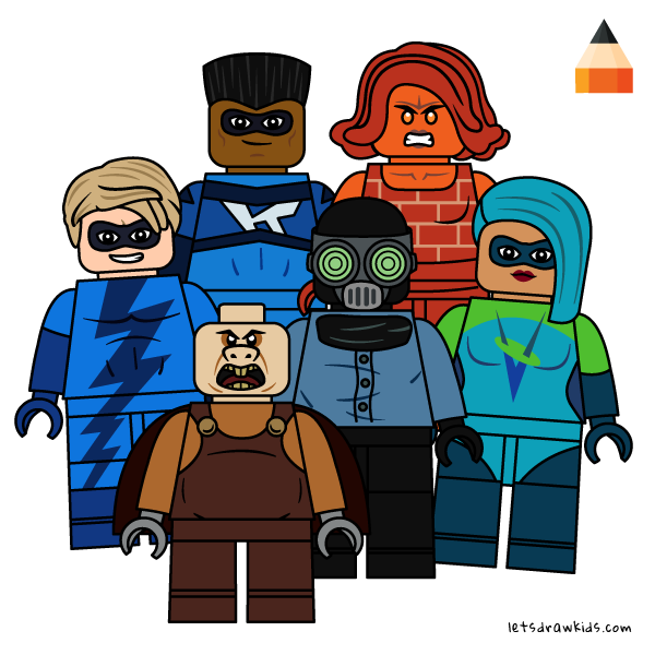 How To Draw Incredibles Drawing Lego Incredibles 2 Coloring Pages Part 2 Lego Drawings Cartoon Drawings