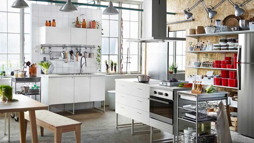 Cocina de Ikea.   Decoracion   Pinterest   Ikea, Cocinas y El mundo de