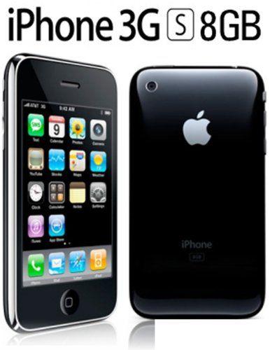 Apple Iphone 3gs 8gb Black ($166 44) | Cell Phones