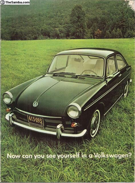 1969 VW Type III Fastback Sales Brochure   VW   Cars