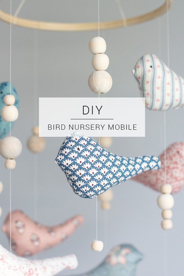 Bird Nursery Mobile Diy Nursery Ideas Pinterest Nursery