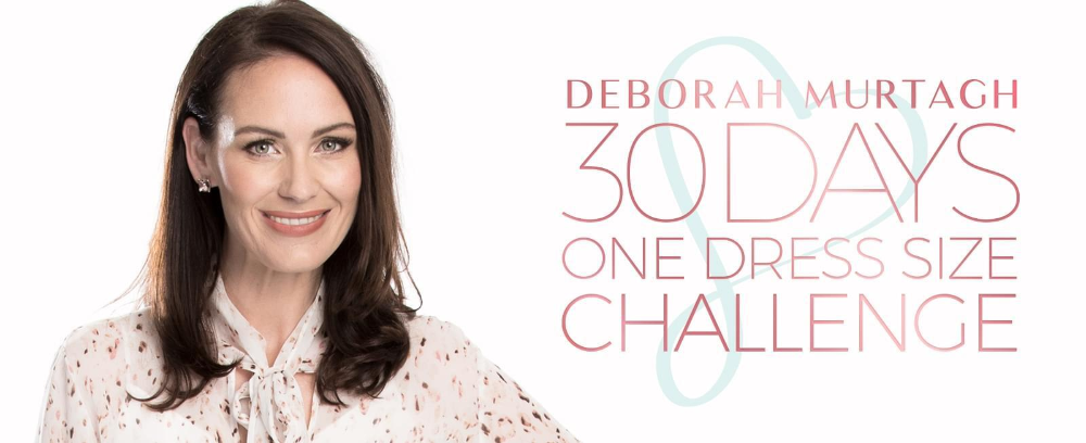 Deborah Murtagh's 30 Days One Dress Size Challenge in 2021 | 30 day challenge, Gym workout for beginners, Health knowledge