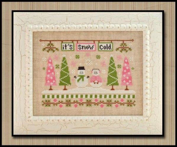 Nuevo diseño de temporada de Country Cottage Needleworks : It's Snow Cold